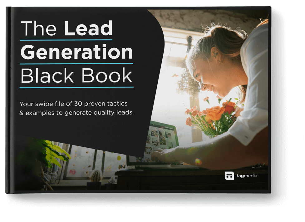 The Lead Generation Black Book cover