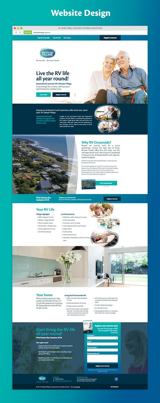 RV Lifestyle Village website