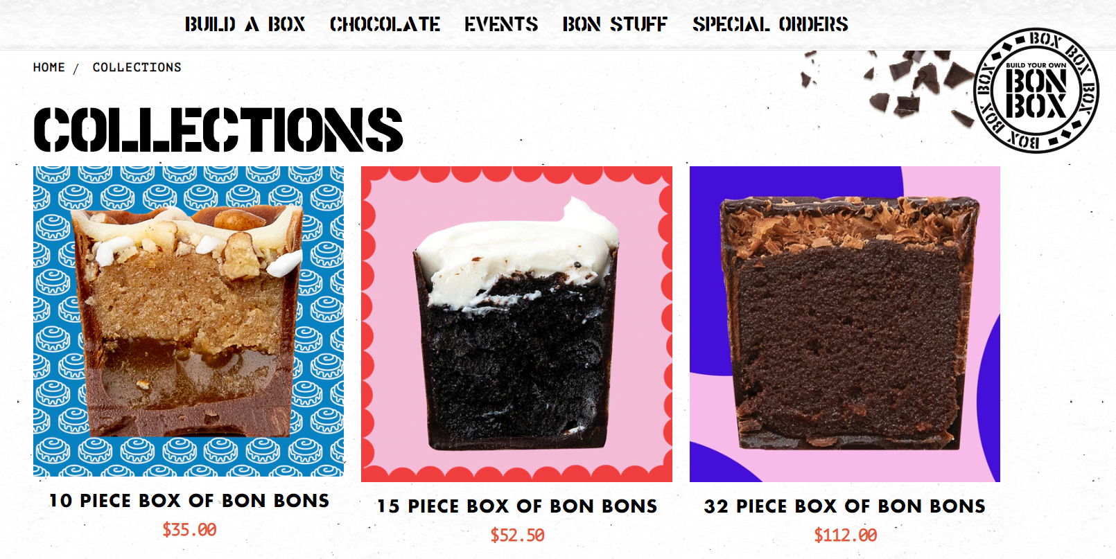 bon bon bon website design inspiration - itag media