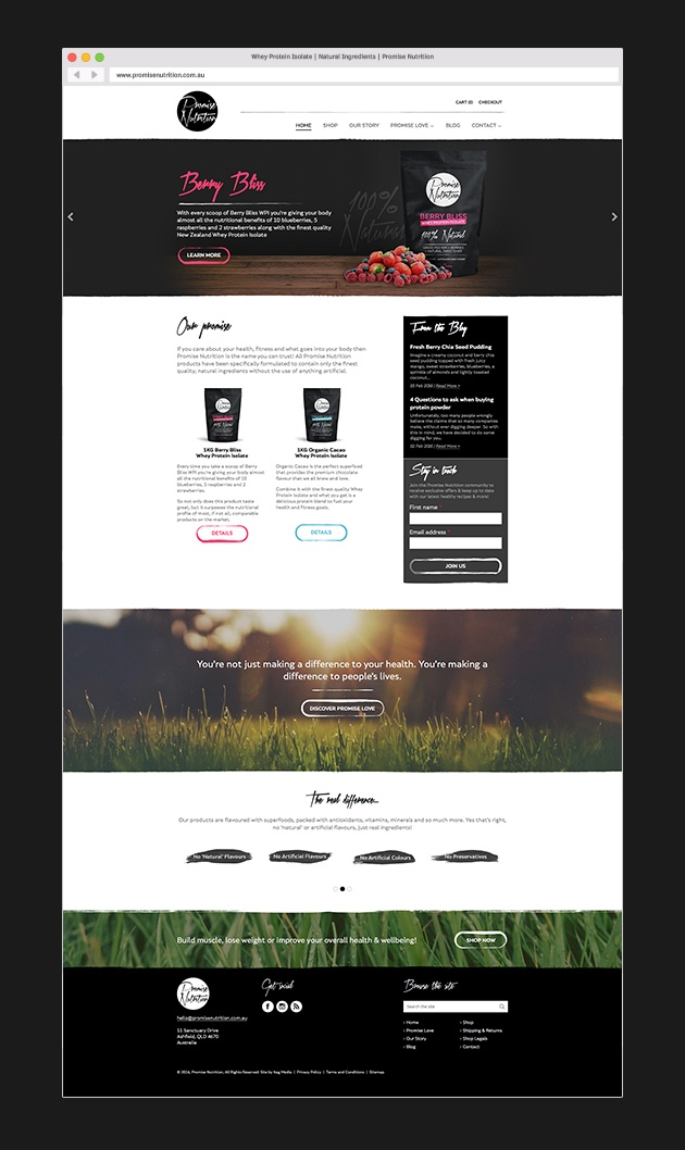 Promise Nutrition Case Study Images