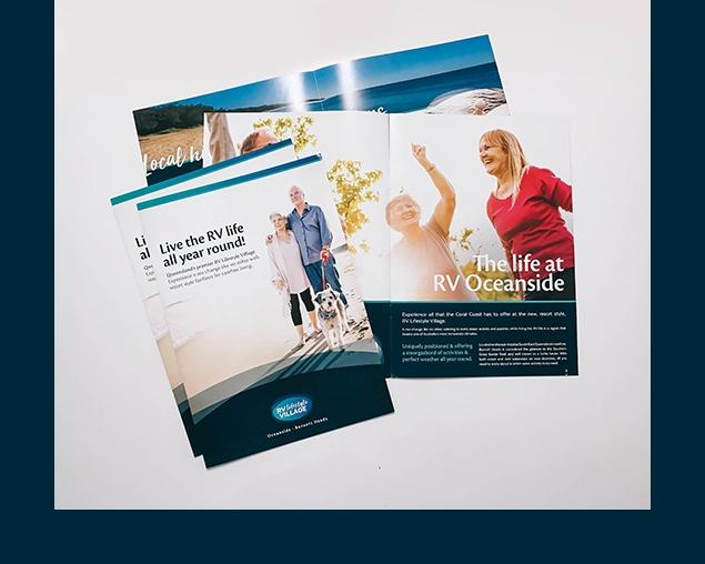 RV Lifestyle Village flyer