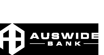White Auswide Bank logo